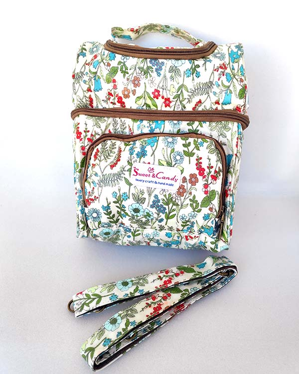 Nevera-Floral-Sweet-Candy-Blanca