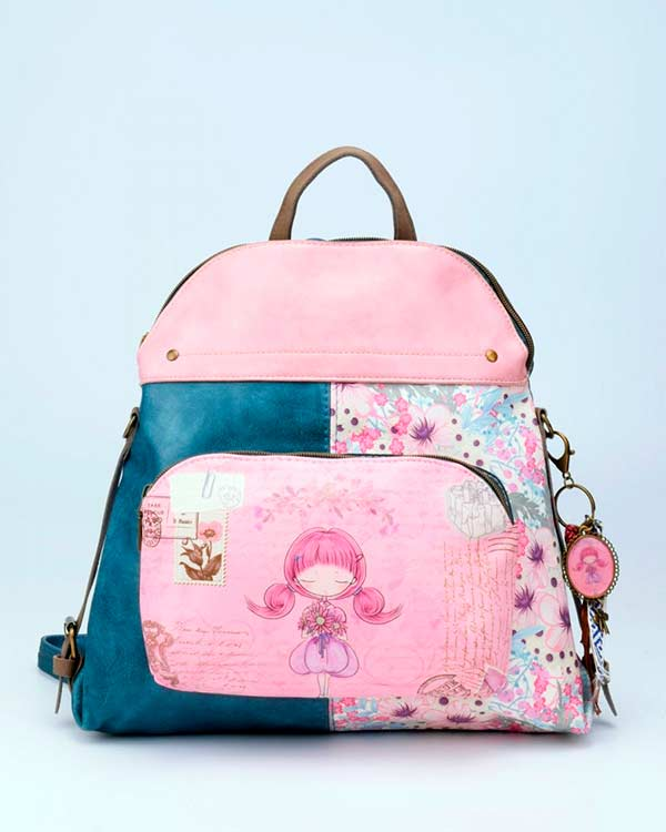 Mochila-Sweet-&-Candy-Flowers-Mediana