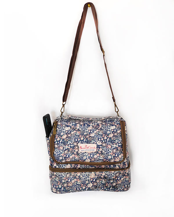 Nevera Sweet Candy Doble Compartimento Azul (2)